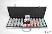 Coffret de 500 jetons de poker Royal Flush