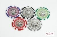 Coffret de 500 jetons de poker Laser Eagle