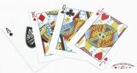 Jeu de 52 cartes Cartamundi Casino Royale Rouge