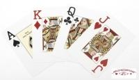 Jeu de 52 carte Fournier Poker Bleu index jumbo