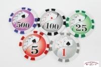 Coffret de 500 jetons de poker Ying Yang