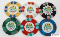 Coffret de 300 jetons de poker Dunes Commemorative