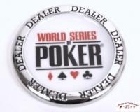 Bouton Dealer WSOP