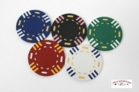 Coffret de 500 jetons de poker Stripes