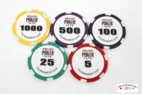 Coffret de 500 jetons de poker WSOP