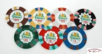 Coffret de 500 jetons de poker Dunes Commemorative