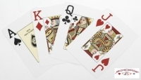 "Jeu de 52 carte ""Fournier Poker Rouge index jumbo"""