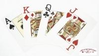 Jeux de 52 carte Fournier EPT Rouge