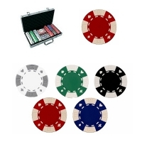 "Coffret de 300 jetons de Poker ""New Suited"""