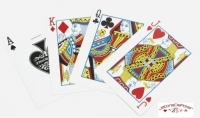 Jeu de 52 cartes Cartamundi Casino Royale Noire