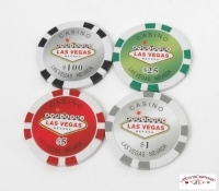 "Coffret de 300 jetons de poker ""Welcome Las Vegas"""