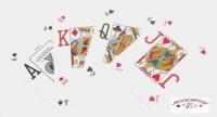 Jeu de 52 cartes Bicycle Pro Poker Peek Bleu