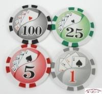 Coffret de 300 jetons de poker Ying Yang
