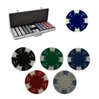 "Coffret de 500 jetons de Poker ""La Royal"""