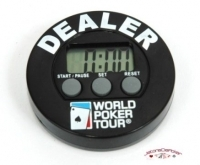 Bouton Dealer Timer WPT
