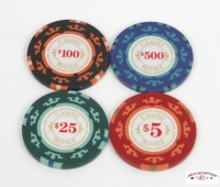 "Coffret de 200 jetons de poker ""Casino royale""14g"