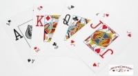 Jeu de 52 cartes Bicycle Pro Poker Peek Rouge